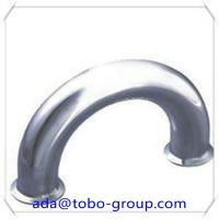 China LR 180 Degree Pipe Elbow 8 Inch Carbon Steel Pipe Fittings Elbow Sch40 wholesale