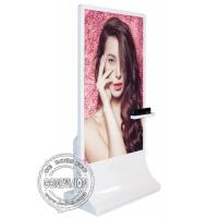 Quality 65inch Floor Stand Wifi Digital Signage / Windows 10 Interactive Kiosk With for sale