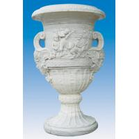 China marble flower pots wholesale