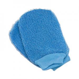 China Body Scrubbing Exfoliating Bath Gloves For Dry Skin Spa Bath Shower wholesale