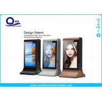 China Huge Capacity Multi Port Usb Charger Station With 7 inch 1080p Display For Advertising wholesale