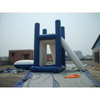 China Lead - Free Backyard Inflatable Water Games , Kids Inflatable Slide For Inground Pool wholesale