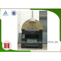 China Real Napoli Style Italian Pizza Oven Natural Lava Rock Gas Heat , Indoor Gas Pizza Oven wholesale