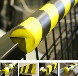Quality PU Foam Edge Impact Protector Anti Collision Strip Bumper Guards Self Adhesive for sale