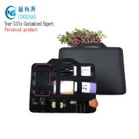 China Neoprene Grid It Gadget Organizer , Waterproof Electronics Organizer For Travel on sale