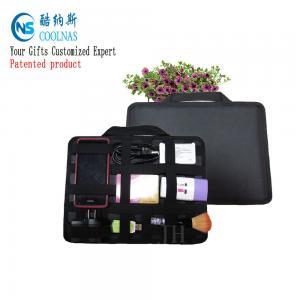 China Neoprene Grid It Gadget Organizer , Waterproof Electronics Organizer For Travel wholesale