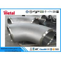 China 90 Degree Butt Weld Elbow , Alloy Steel Incoloy 825 Fittings For Industries wholesale