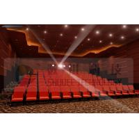 China Upscale 4D Cinema System With Motion Chair And Cinema Special Effects wholesale