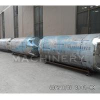 China SS304 Two Motions Mixing Tanks With Platform 3000L Stainless Steel Mixing Tanks With Pump And Filter wholesale