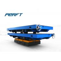 China 40T Battery Powered Industrial Transfer Car For Heavy Material Transportation wholesale