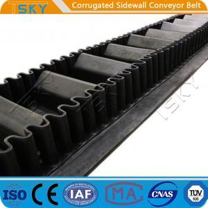 China B1000 Corrugated Sidewall Rubber Conveyor Belt wholesale
