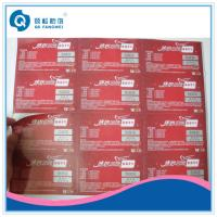 China Custom Printed Product Labels , Brand Protection Tamper Proof Stickers on sale