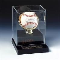 Buy cheap SGS Baseball Acrylic Display Stand Case / Sport Acrylic Advertising Display from wholesalers