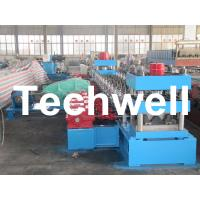 China 30KW, 3 Phase 50Hz 2 Wave Beam Roll Forming Machine With 10 - 12m/min Working Speed wholesale