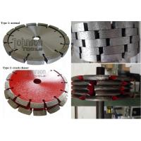 China Crack Chasing Tuck Point Diamond Blades , Diamond Cutting Saw Blade 125mm 180mm 300mm on sale