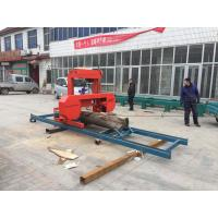 China Forest Woodworking Machinery ! SH27 Portable Horizontal Band Wood Timber Sawmikk For Cutting Log wholesale