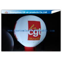 China Rental Inflatable Advertising Balloon With Bottom , Custom Inflatable Balloons With Light wholesale