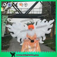 China White Parade Inflatable Wing With Led Lighting 2m/3m Customized For Event Decoration wholesale