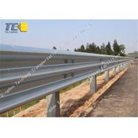 China Corrosion Resistance W Metal Beam Crash Barrier Cold Galvanized Spray on sale