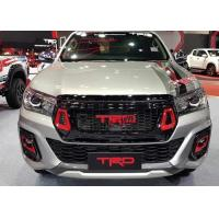 China Hilux 2018 Grille TRD Style Front Grill Guard With Fog Lights Cover For Toyota Rocco wholesale