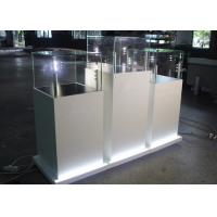 China Modern Fashion Wooden Glass Jewelry Show Display - Jewelry Pedestal Display Case wholesale