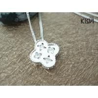 China Fashion Jewelry 925 Sterling Silver Necklace with Zircon W-VD153 wholesale