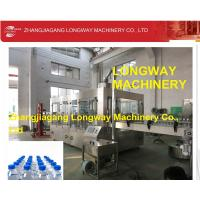 China Longway Auto-matic Purified/Mineral water rinsing filling capping Machine wholesale