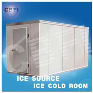 China Concrete Design Moisture Proof Light Cold Room Blast Chiller Freezer With Cement Floor wholesale