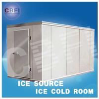 China Concrete Design Moisture Proof Light Cold Room Blast Chiller Freezer With Cement Floor wholesale