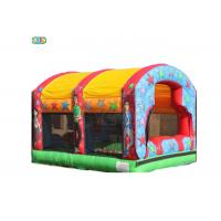 China Ball Pond Pit Inflatable Cool Bounce Houses Lead Free SGS Certification on sale