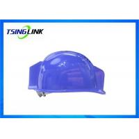 China Durable 4G Video Transmit Smart Safety Helmet Bluetooth For Construction Site wholesale