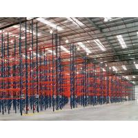 China Dark Blue / Orange Red Industrial Pallet Rack Shelving Warehouse Storage Racks wholesale