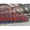 China Dark Blue / Orange Red Industrial Pallet Rack Shelving Warehouse Storage Racks wholesale