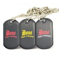 China Colorful Aluminum Sublimation Pet Identification Tags , 3D Custom Dog Tags For Pets wholesale