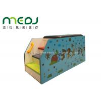 China Animal Party Pediatric Examination Table , Cartoon Pediatric Exam Table With Cabinet wholesale