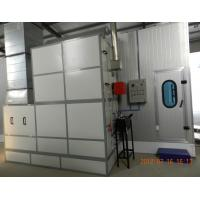 Quality Autobody Spraybooth Equipment with Riello Oil Burners and intake and exhaust fans for sale