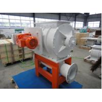 Pneumatic rotary airlock valve BFCP in pressure blow line of coffee been ,PVC