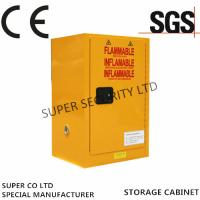 China Self-Locking Flammable Liquid Chemical Storage Cabinet , 15 Gallon Thickness1.2mm wholesale