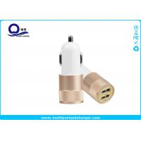 China Mobile Phone Dual Port USB Car Charger adapter / iPhone 7 Samsung Xiaomi Usb Phone Charger wholesale