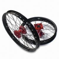 China Motorcycle Wheels, Suitable for Honda CRF 250/450, Made of 7075 Aluminum Alloy on sale