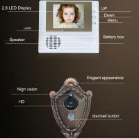 "Quality 2.8"" LCD Screen Digital Door Peephole Viewer Camera IR LED Night Vision Home for sale"
