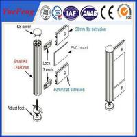 China exhibition booth fair display stand aluminum profiles design wholesale