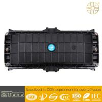 China Black PC 48cores Fiber Optic Junction Box Wall Mounting Damp Proof GJS-5021 wholesale