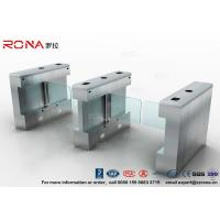 China Heavy Duty 1.4m Swing Barrier Gate , Museum Durable Brushless Pedestrian Security Gates wholesale