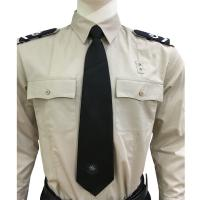 China Long Sleeve Custom Security Shirts For Men , 65% Polyester 35% Cotton Materials wholesale