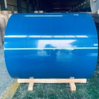 China 3003 3105 PE PVDF Painted Aluminum Coil Color Coated ASTM B209 wholesale
