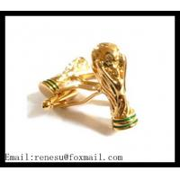 China High Quality of  2014 FIFA World Cup Cufflinks with low price wholesale