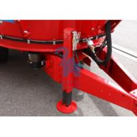 China Belt Conveyor Type Cattle Feed Mixers , Upright Auger Feed Wagon Standard Type wholesale