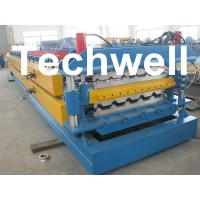 China High Grade 45# Axis Double Layer Roll Former / Roll Forming Machine For Roofing Sheets wholesale