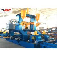 Quality Assembly Welding Straightening H Beam Welding Line 3 In 1 High Efficiency for Industrial for sale